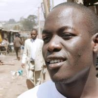 Fred O. from Kibera, Community worker in the biggest Slum of Africa.