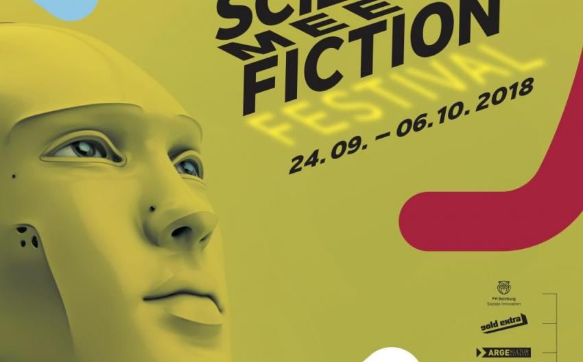 Poster Science Meets Fiction (Eric Pratter/Festival)